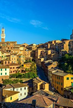 Panorama of Siena, Tuscany, Italy | Amazing Photography Of Cities and Famous Landmarks From Around The World