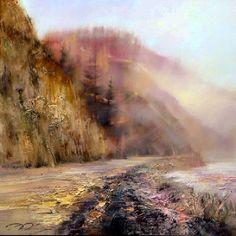 Денис Октябрь, современный российский художник романтик, все полотна которого наполнены удивительным сказочным светом.