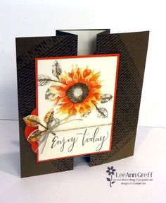 Painted Harvest Fun-Fold card