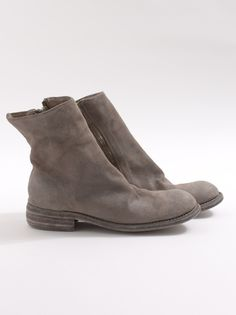 Guidi Grey Ankle Boot