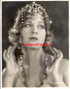 Vintage Esther Ralston GORGEOUS GLAMOUR JEWELRY 20s LB Publicity Portrait