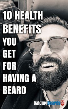Stop shaving and start growing. 10 Exclusive Health Benefits You Get For Growing a #Beard.