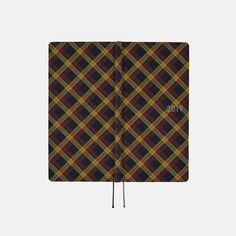 The Shirt Fabric series uses the same smooth, soft material as button-up shirts. Yellow Plaid Shirt, Hobonichi Techo, Planner Book, Lineup, Cover, Fabric, January, Shirts, Etsy
