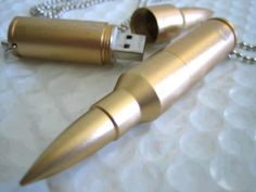 bullet usb...! My brother would love this!