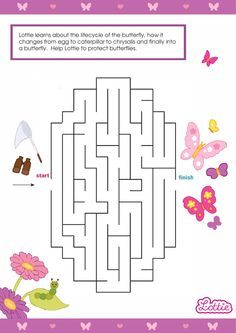 Lottie doll printable maze games and mazes for kids: FREE Lottie Dolls Printables for Kids. Autumn Activities, Fun Activities, Mazes For Kids Printable, Free Printables, Maze Games For Kids, Colors For Toddlers, Maze Worksheet, Frozen Coloring Pages, Preschool Worksheets