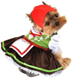 Anit Accessories Alpine Girl Dog Costume, Small, 12-Inch - http://www.thepuppy.org/anit-accessories-alpine-girl-dog-costume-small-12-inch/