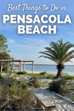 The best things to do in Pensacola Beach include going out to eat at waterfront restaurants, strolling the pier, and walking on the beach boardwalk. Here's our list of some of the best things to do in Pensacola Beach and nearby! | The Planet D | #Florida #PensacolaBeach | north america travel | things to do at pensacola beach | things to do pensacola beach
