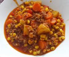 Rezept Hackfleischeintopf mit Kartoffeln und Gemüse von Katthree - Rezept der Kategorie Hauptgerichte mit Fleisch