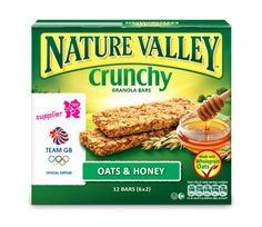 London 2012 Olympic packaging for Nature Valley