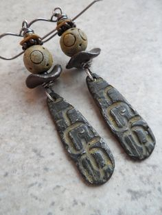 If Walls Could Talk ... Polymer Clay Pewter and by juliethelen