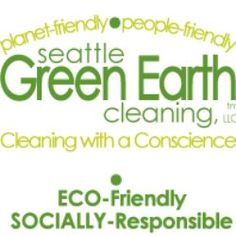 For my birthday Seattle Green Earth Cleaning