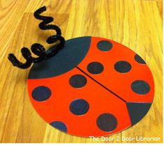 Bugs. Ladybugs. Storytime. Preschool. Library. Home school. Every Child Ready to Read. ECRR.