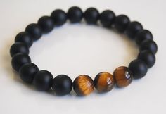 Men's Bracelets Father's Day Bracelet by FerozasjewelryForMen, $35.00
