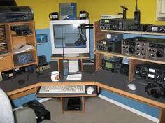 Image result for hAM RADIO DESK RACK MOUNT