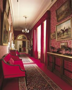 Regal Majesty:  Clarence House interior