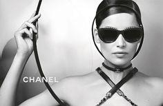 Chanel Spring / Summer 2013 Eyewear Ad Campaign Featuring Laetitia Casta
