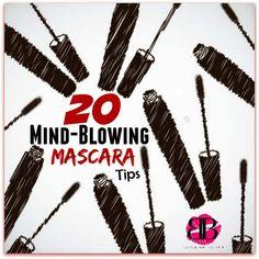 20 Mind-blowing Mascara Tips