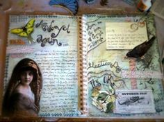 And yet again.... #artjournal #collage #journaling