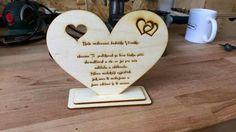 Svatba poděkování pro babí Wedding thanks for grandma