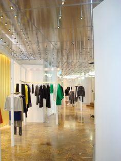 inside Balenciage Milan's store
