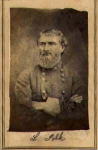 GEN Leonidas Polk; CSA. American War, American History, Confederate Monuments, Rebel Yell, America Civil War, Civil War Photos, Down South, My Heritage, American Revolution