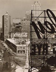 Columbus Circle, Manhattan, 1938