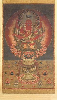 愛染明王像<br/>Aizen Myōō
