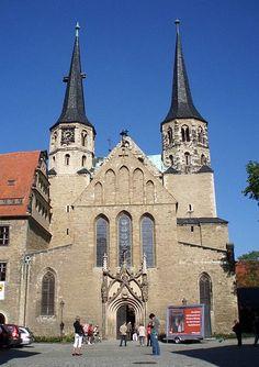 Мерзебург. Восточная Германия. Собор святого Иоанна Крестителя