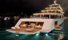 Nauta-luxury-yacht-PROJECT-LIGHT-by-night.jpg 1,400×823 pixels