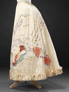 Fancy Dress Skirt, 1890s