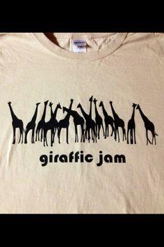 Giraffic Jam - colors customizable - SHIPS FOR 1 CENT