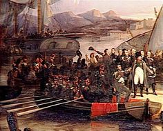 Napoleon returned from Elba to Paris on March 20, 1815 until July 8, 1815, but the Congress of Vienna declared him a criminal and forced exile to St Helena