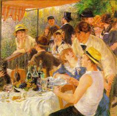 Renoir - Luncheon of the Boating Party 1881