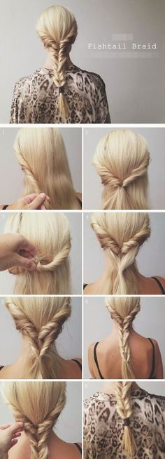 5 Minute Hairstyle Tuck And Tame Hair Pinterest 5 Minute