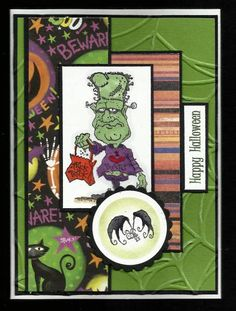 Happy Fright Night by BarbieP - Cards and Paper Crafts at Splitcoaststampers