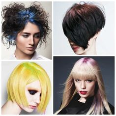 A New Way To Use Hair Chalk: Bright Roots