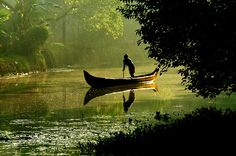kerala backwaters. india. looking at volunteering here this summer.