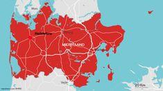 Seismolog: Usædvanligt jordskælv ramte i udkanten af Holstebro Getting Married In Denmark, Map, World, Location Map, Maps, The World