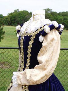 Custom Elizabethan Gown Ensemble Court Dress by Redthreaded