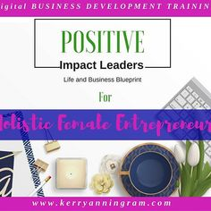 """➳➳➳➳➳➳➳➳➳➳➳➳➳➳ Guess what everyone!!!!! """"Positive Impact Leaders: Life and Business Blueprint"""" for Holistic Female Entrepreneurs is ready for NEW MEMBERS!!!! I launched it earlier today... I'm so excited! Woo hoo!! • • •  WHO IS THIS GROUP DESIGNED FOR?  For Female Entrepreneurs and/or aspiring Female Entrepreneurs who are developing a holistic heart-centered business. They also want to create freedom and positive income streams, but most importantly, they want a safe place to discuss and…"""