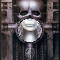 """Brain Salad Surgery"" by Emerson, Lake, and Palmer (album cover art by HR Giger). Best Album Art, Greatest Album Covers, Rock Album Covers, Classic Album Covers, Music Album Covers, Box Covers, Hr Giger Art, Dj Tattoo, Tattoos"