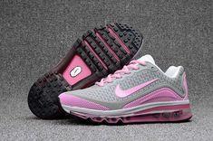 baac1ec07008 Women s UK Nike Air Max 2017.8 KPU TPU Running Shoes Pink Light Grey Trainers  UK
