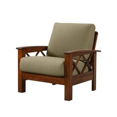 This Deschambault Armchair boasts an updated transitional design that will elevate your home. The chair features comfortable box cushions in a woven fabric on an exposed frame that evokes a modern mission style feel. Living Room Seating, Living Room Chairs, Living Room Furniture, Furniture Sale, Furniture Projects, Wooden Sofa Set, Barrel Chair, Sofa Design, Armchair