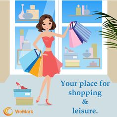 Your place for #Shopping & #Leisure. Visit here to know more: www.wemarkindia.com
