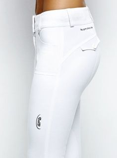 GPA Second Skin White Breeches- but how long will they stay that white??