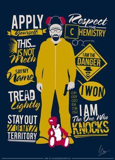 Breaking Bad - Heisenberg Poster by YeshuDave029