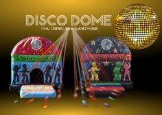 News Disco Dome On Hire : Castle Empire
