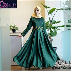 Dress Formal by Habibah Satin Dresses, Formal Dresses, Hijab Dress, Veil, Trending Outfits, Womens Fashion, Shopping, Dressage, Etsy Shop