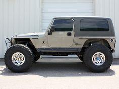 """jeep LJ"" on trimmed fenders Jeep Cj7, Wrangler Jeep, Jeep Wrangler Unlimited, Jeep Rubicon, Badass Jeep, Cool Jeeps, Cheap Jeeps, Jeep Mods, Custom Jeep"