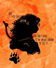 Merida | Brave | Shadows  Light by Jennifer Jenell Konschak